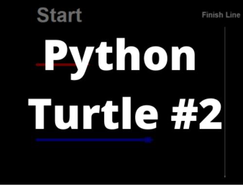 Python Turtle – wyścig żółwi