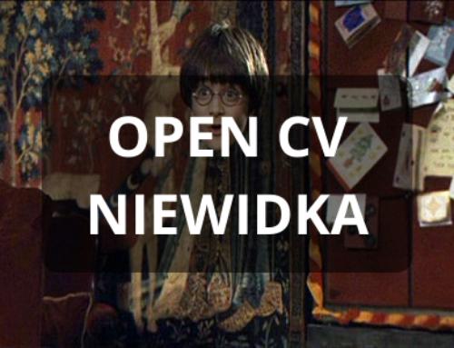 Pelerynka Niewidka – OpenCV